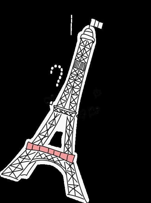 Torre Em Desenho 2 Tumblr Png Paris Drawing Paris Illustration