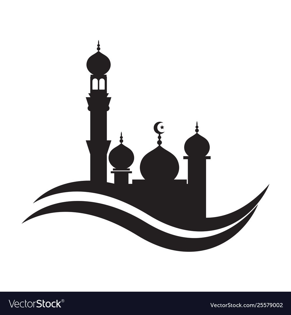Islamic architecture moon silhouette islam crescent moon star png ...