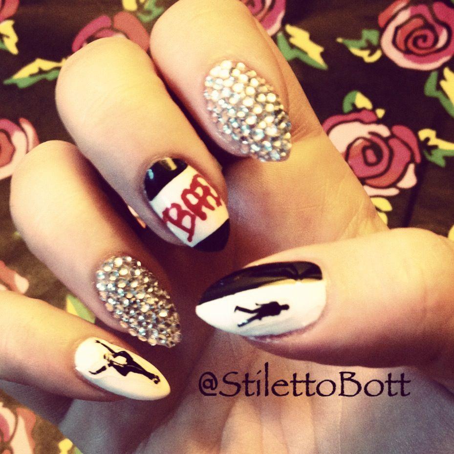 Stilettobott Style Whos Bad Michael Jackson Nails