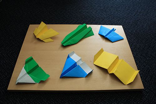 origami How to Make Origami Airplanes That Fly by Gery Hsu paper ...   334x500