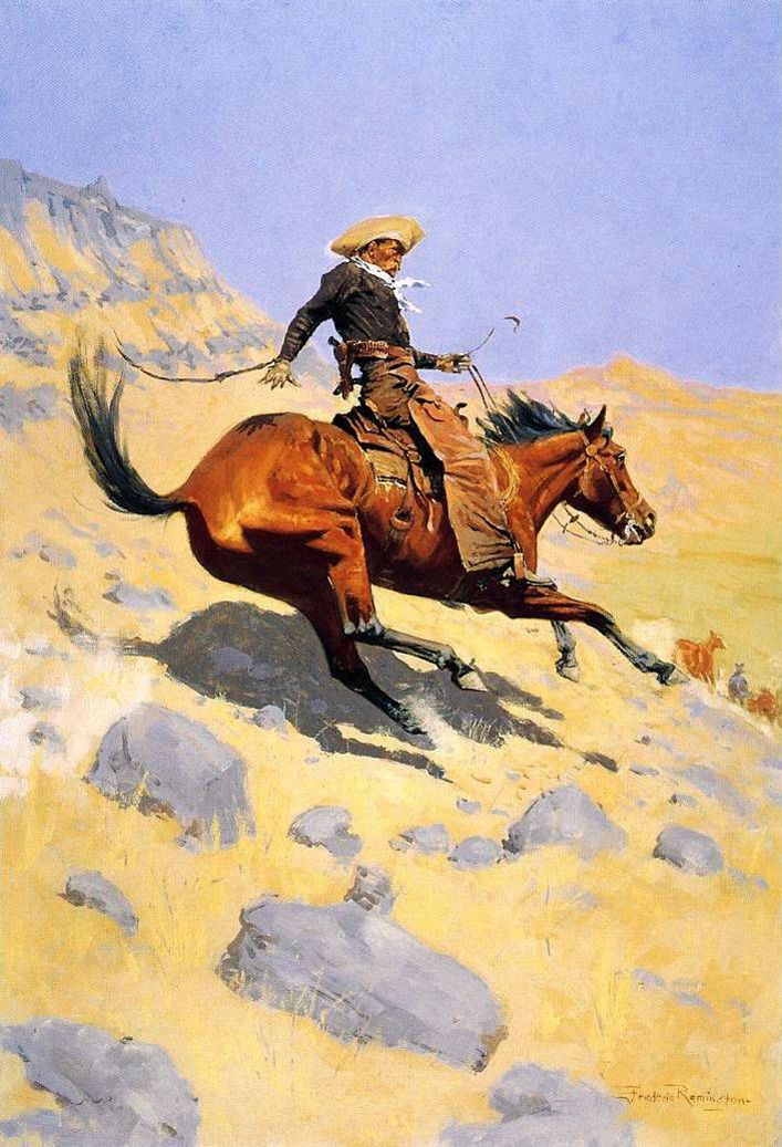 Self-Portrait on a Horse (1890) Born at Canton, New York USA