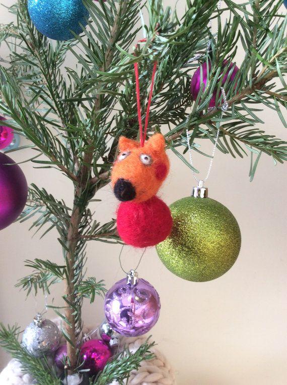 needle felted peppa pig inspired freddy fox by handmadehermione