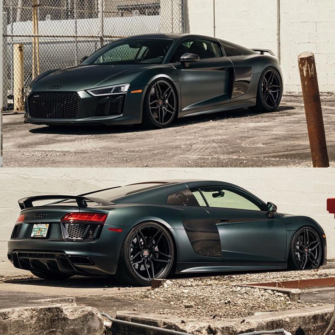 1 Of 16 Camouflage Green R8 V10 Plus For Sale By @vossen