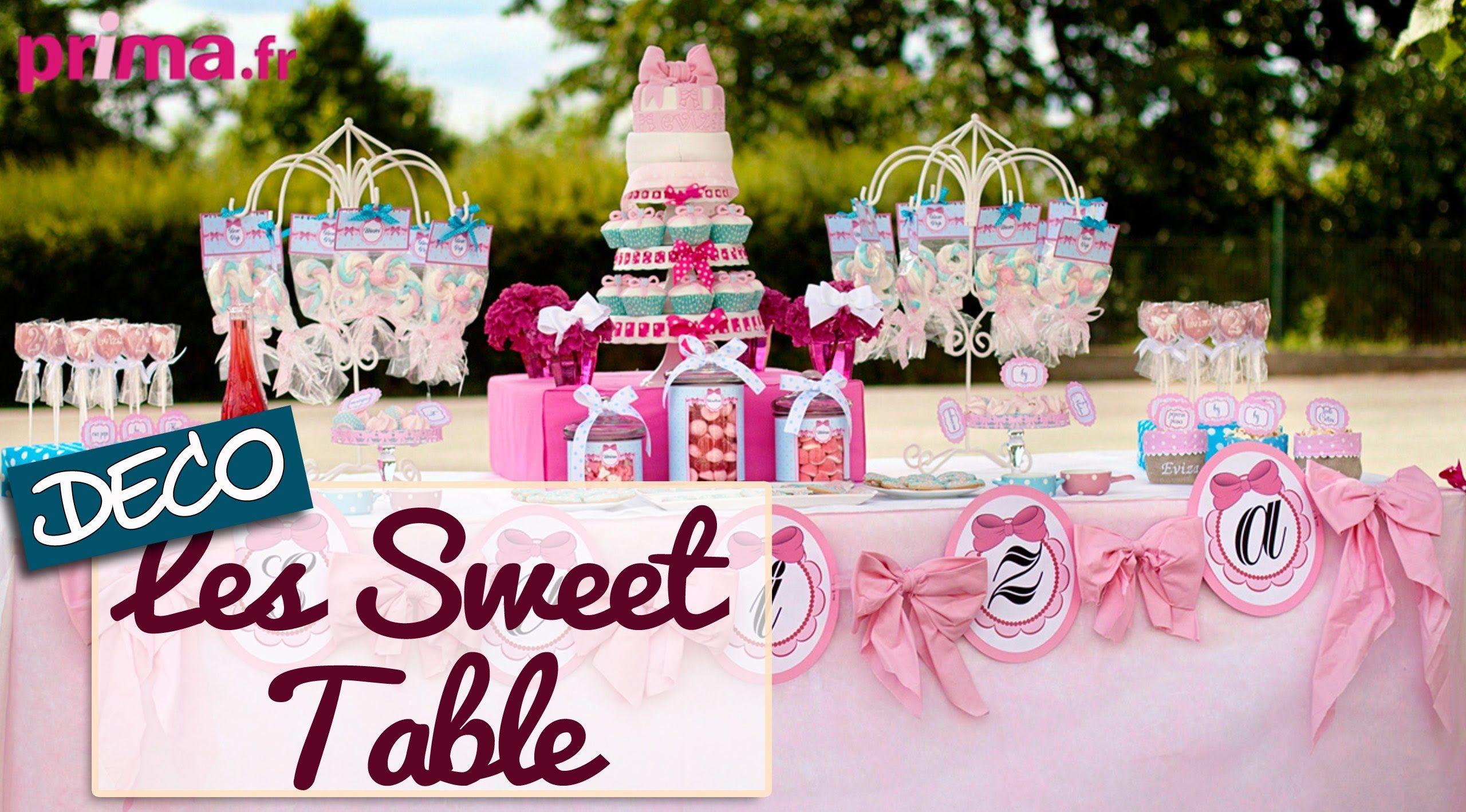 Les Sweet Table , Idée déco pour un buffet d\u0027anniversaire !