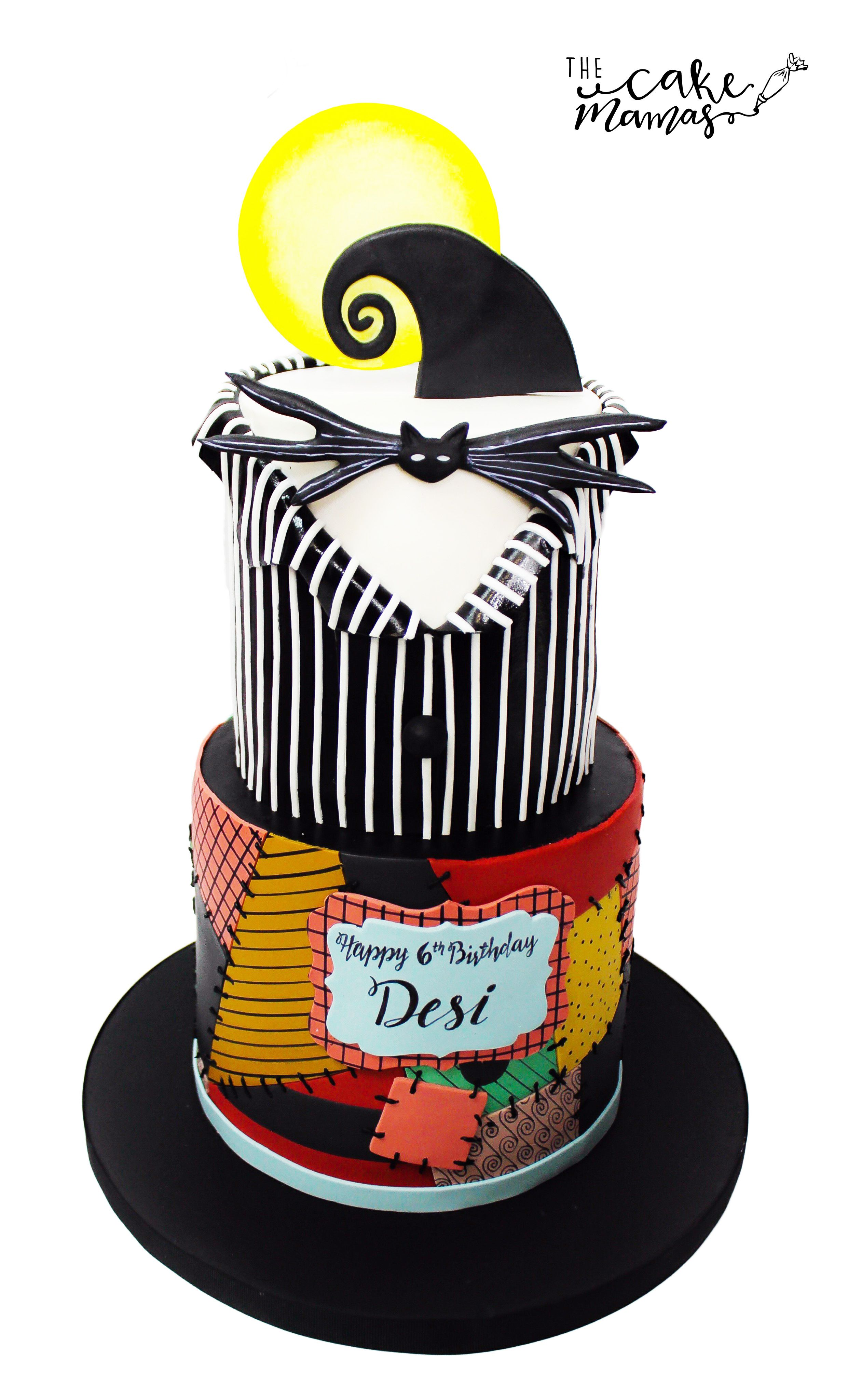 Nightmare Before Christmas Inspired Birthday Cake Call Or Email