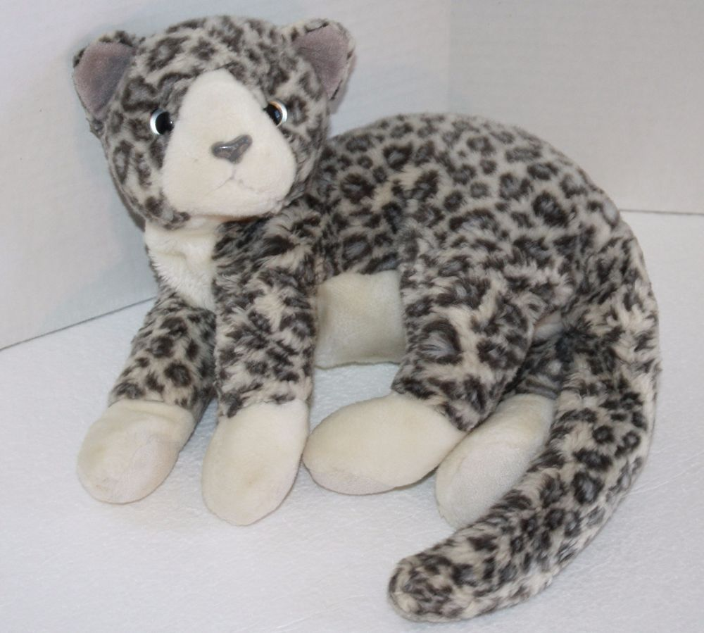 0e4870795aa TY Beanie Buddies is PURR Kitty Cat from 2002 This Gray Silver Plush  Leopard Tabby is adorable and about 11