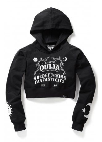 b18c931599f Killstar Ouija Crop Hoodie in 2019 | You Wish You Had Money For This ...