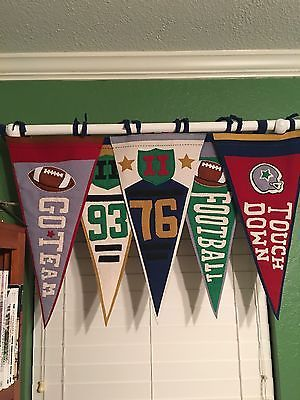 Sports Themed Boys Window Topper Curtain Valance Sports Themed Room Sports Themed Bedroom Boy Sports Bedroom