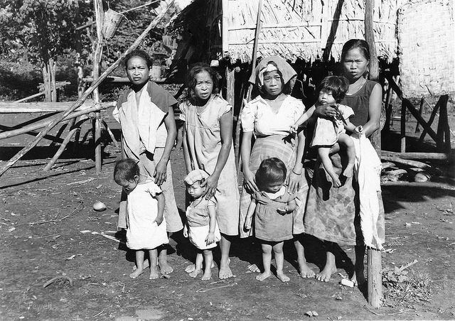 Native Filipinos Late 1940s Philippines 2 By John T Pilot Via