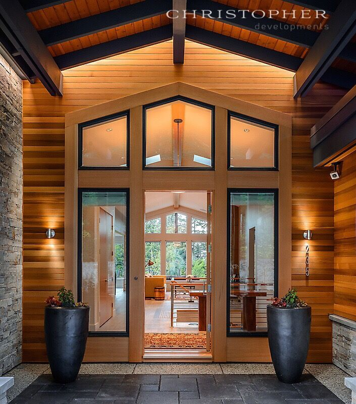 A west coast contemporary home designed and built by Christopher ...