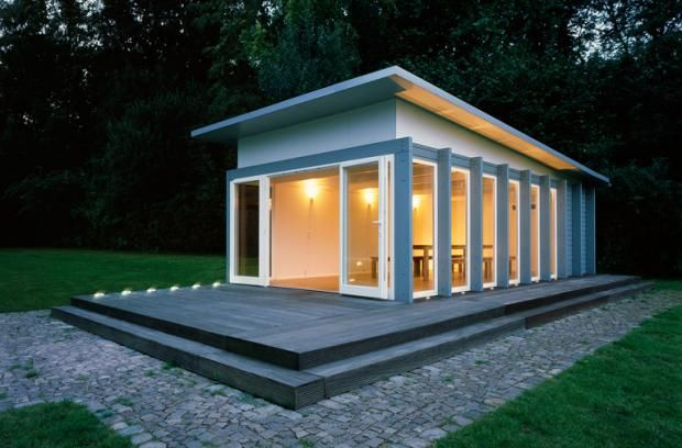 Schoner Wohnen Shed Modern Landscape Design Garden Shed