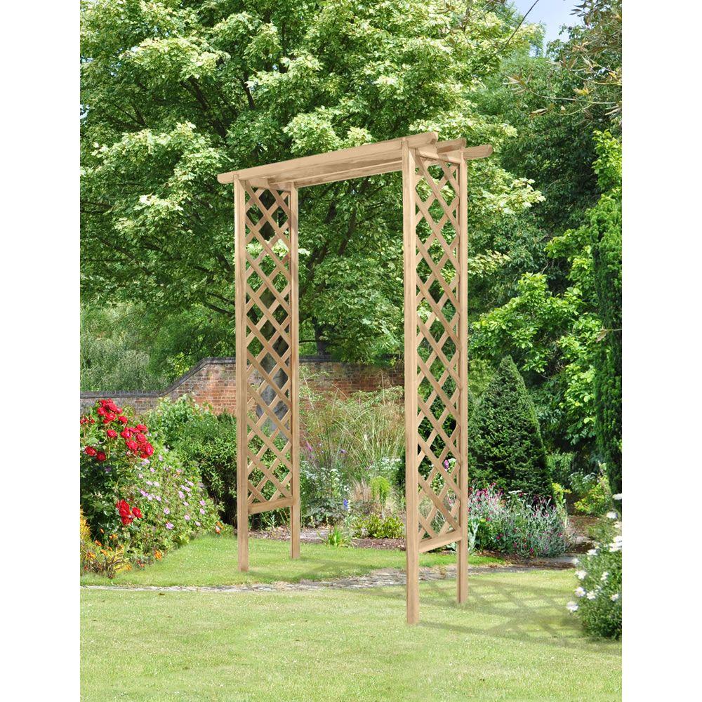 Trellis Arch wilko £70 | Secret Gardens | Pinterest