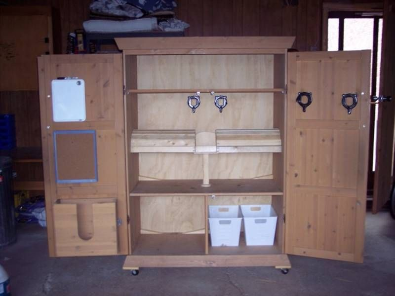 Equestrian Tack Locker   Ideas For Secure Tack Storage/lockers. Room For  Saddles,