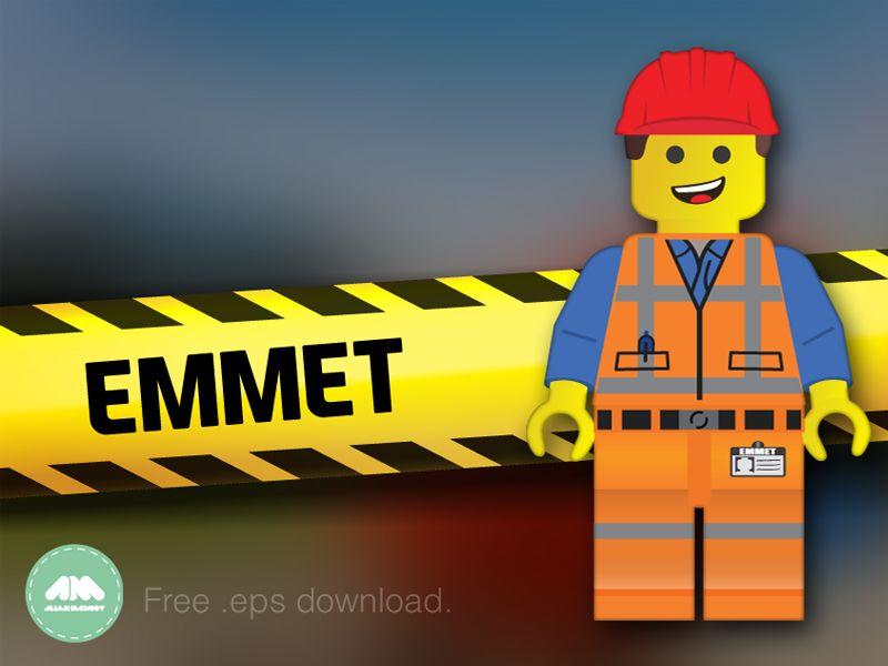 Emmet Lego Movie Free Vector Emmet Lego Lego Movie Free Lego