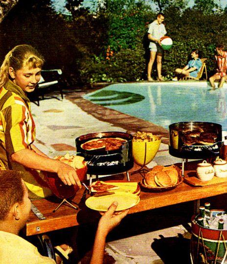 Backyard Cookout Menu: Best 25+ Retro Barbecue Ideas On Pinterest