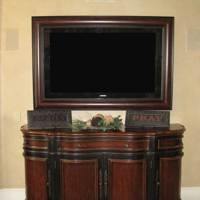 Flat Screen Tv Frame Design Ideas Pictures Remodel And Decor