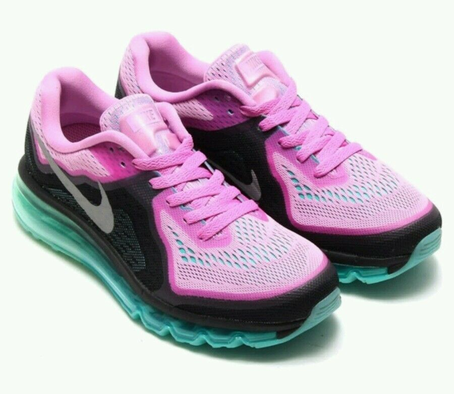 buy cheap a3780 a681a New Nike Air Max 2014 Running Shoes Women s US 8.5 Light Magenta Turquoise  - Nike Airs
