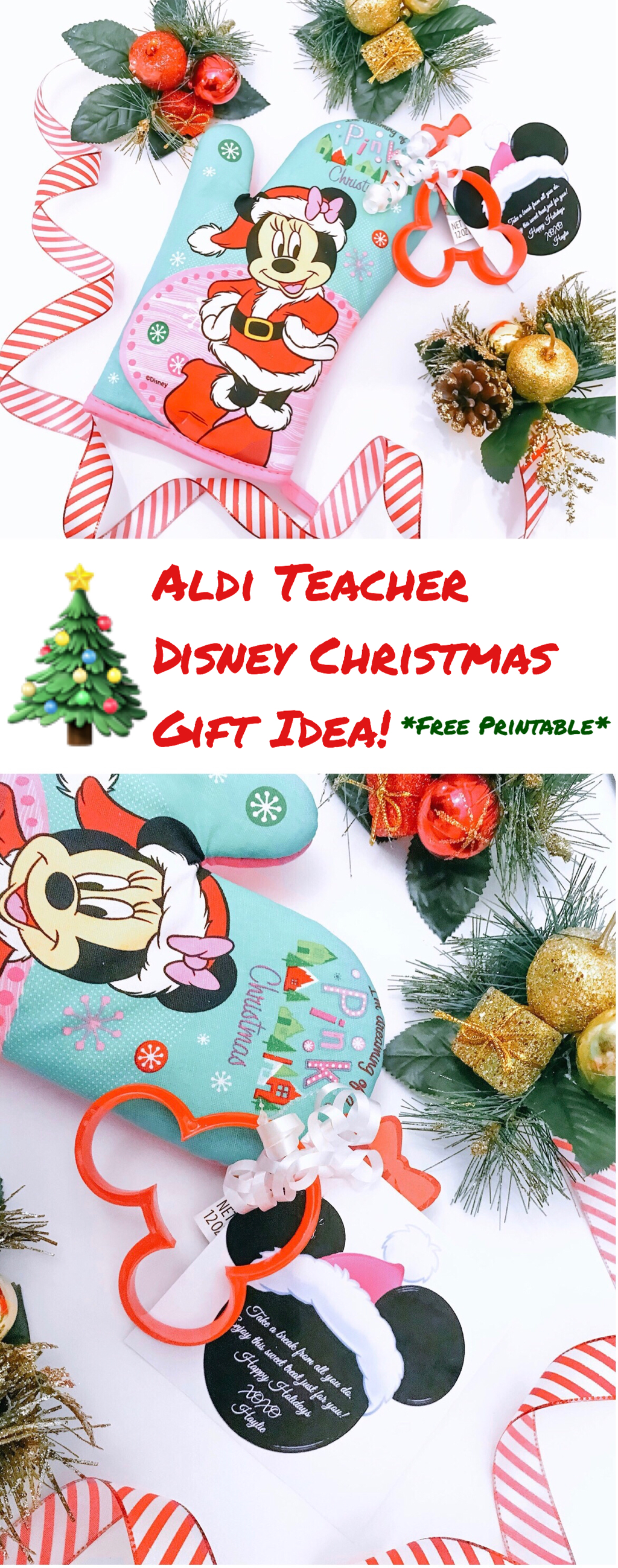 Aldi Teacher Disney Christmas Gift Idea | The Trophy WifeStyle ...