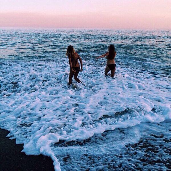 mejores amigas fotos tumblr beach playa bffs