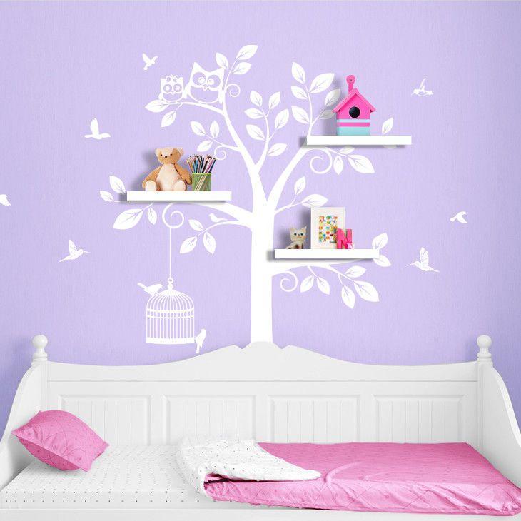 Wandtattoo Wandsticker Wandaufkleber Kinderzimmer Baum XXL