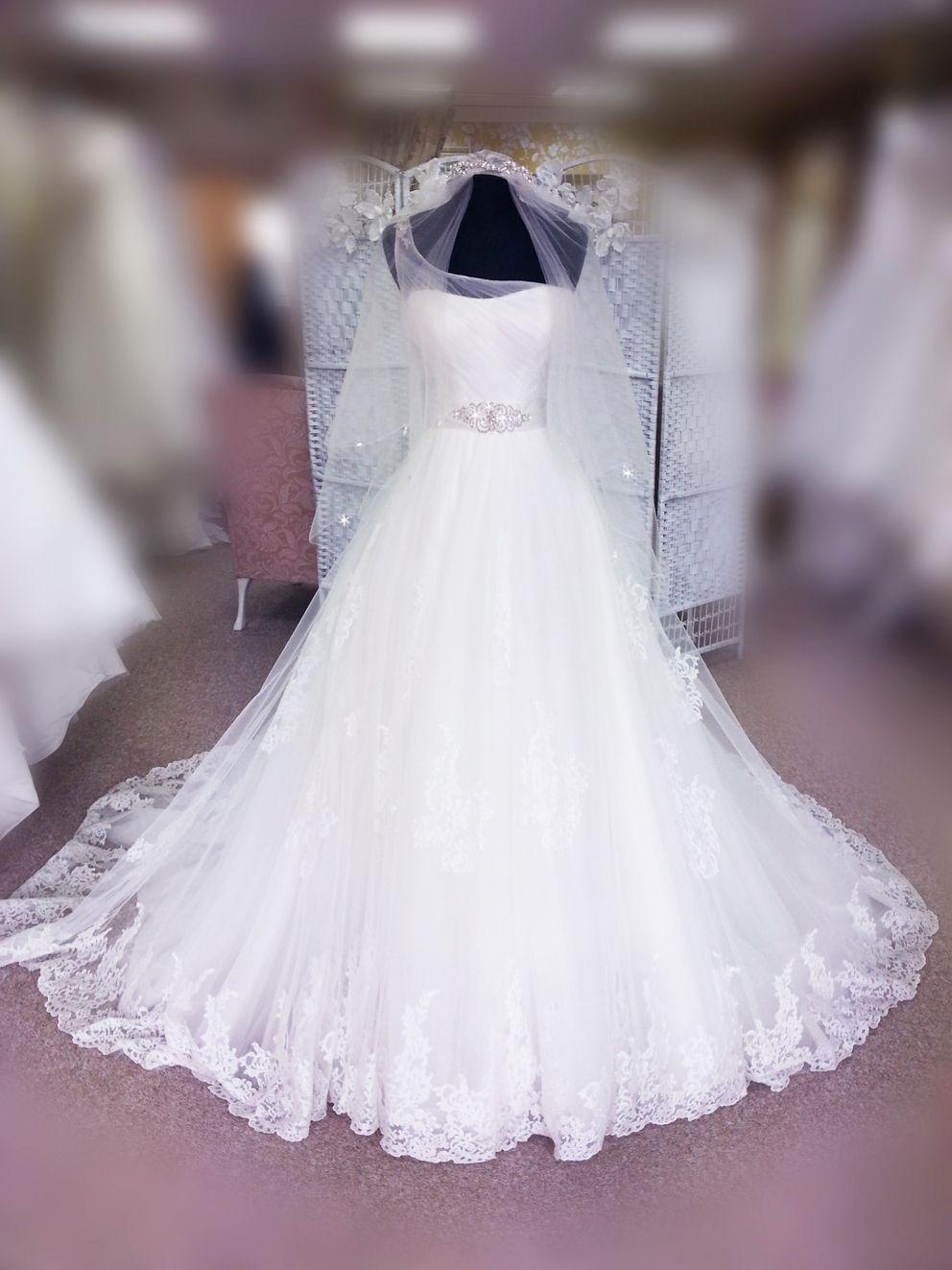 fd03aa221daa Melanie Dress in Dorothy Rose Bridal Boutique www.dorothyrosebridal.com  #lace #princess #weddingdress