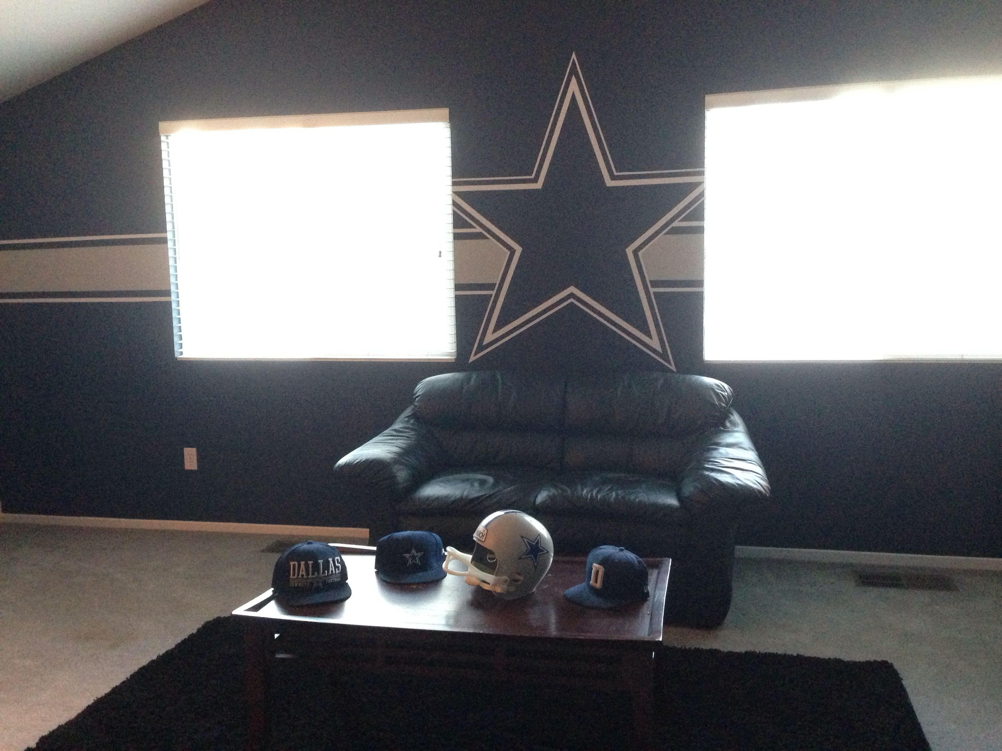 Dallas Cowboys Wall Decor dallas cowboy man cave | paint jobs | pinterest | cowboys men, men