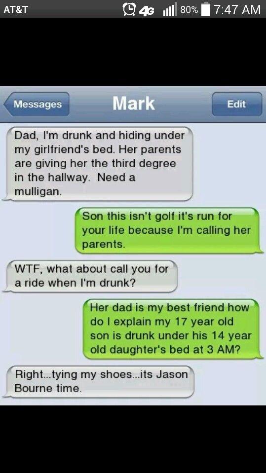 Mean dad