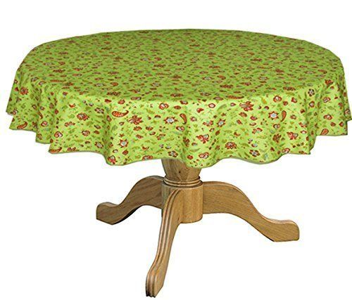 stain resistant round 42 to 60 bistro tablecloth be sure to