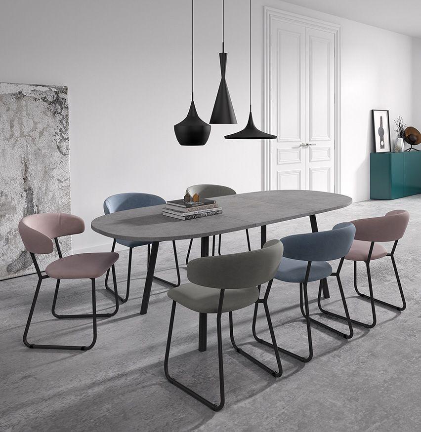 Ensemble Table Et Chaises Rialto Elba De Perfecta Modern Meubeldesign Meubel Ideeen Moderne Meubels