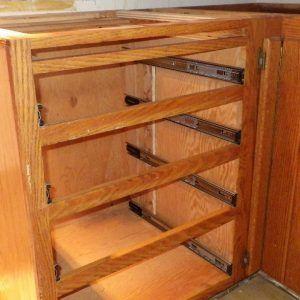 Drawer Slides For Kitchen Cabinets
