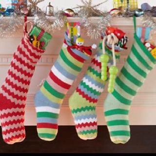 Love these stockings!! From thelandofnod.com