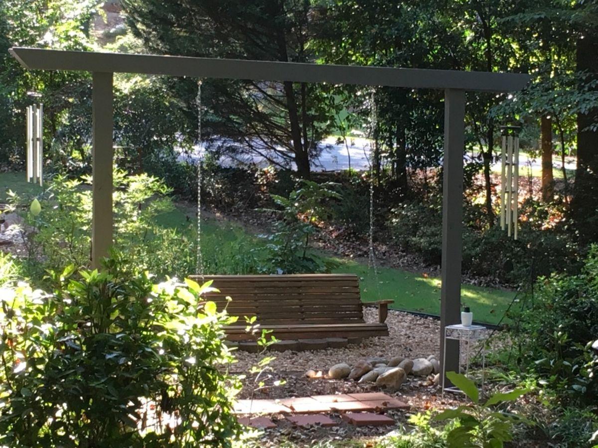Cypress 5 Foot Roll Back Porch Swing Magnolia Porch Swings Patio Swing Porch Swing Back Porch