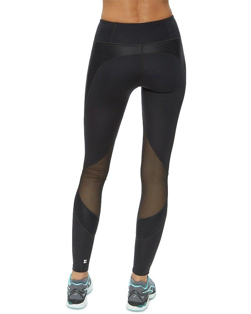 eb57260934164b Sweaty Betty To The Beat Sculpt Run Leggings in Black, £95 | My ...