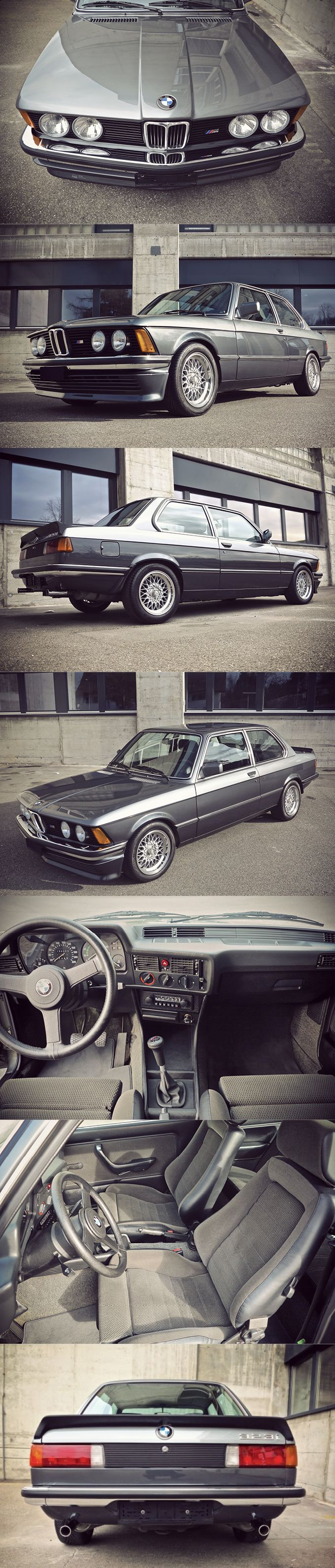 1982 BMW 323i Edition S E21 Germany Two Tone Ascot