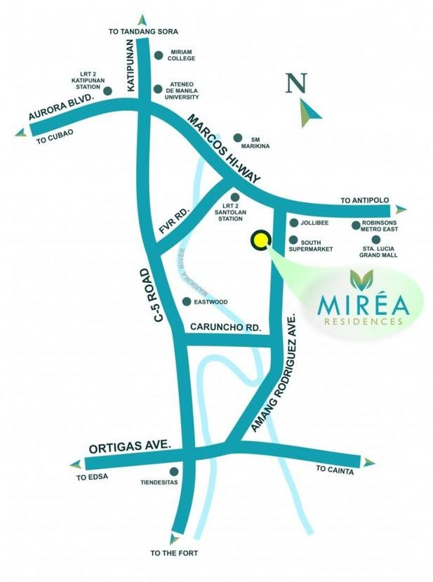 Mirea Residences Pasig City Santolan Residences Mall