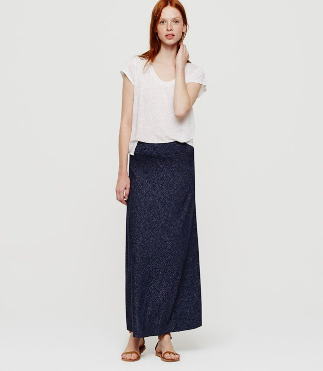 Primary Image of Petite Lou & Grey Marlknit Ankle Skirt