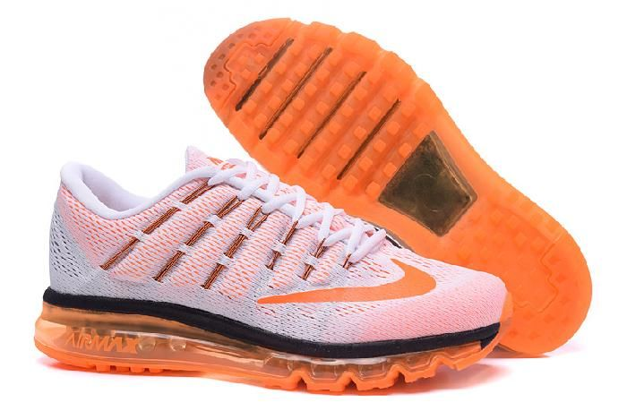 Cheap Uncostly Nike Air Max 2016 for Sale Black Orange White Online Running  Shoes and Air
