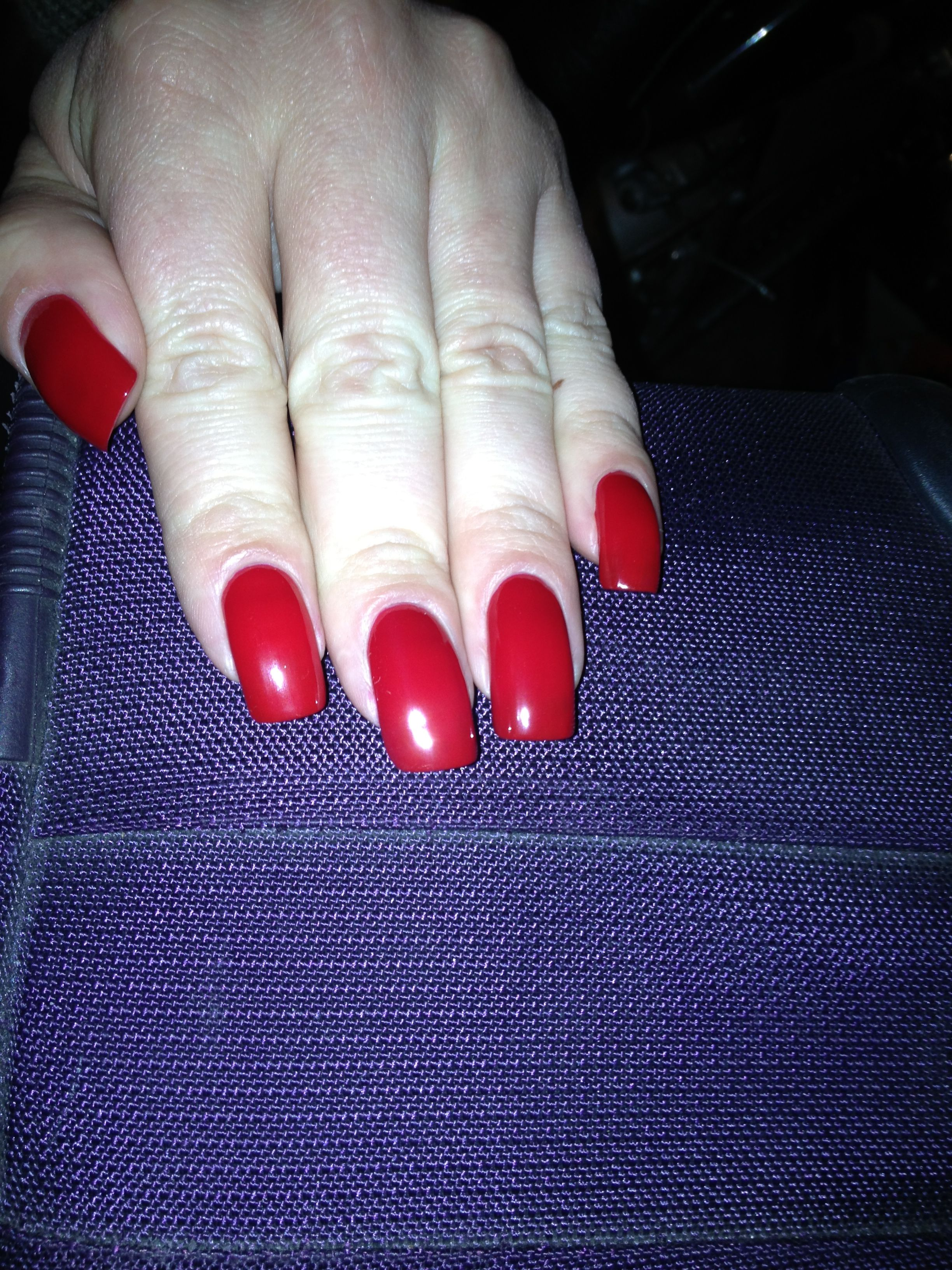 Red hot nails nails pinterest hot nails nails and red manicure