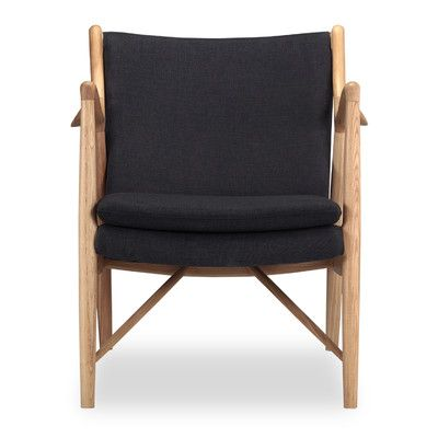 Kardiel Copenhagen 45 Mid-Century Modern Arm Chair Color: Urban Ink