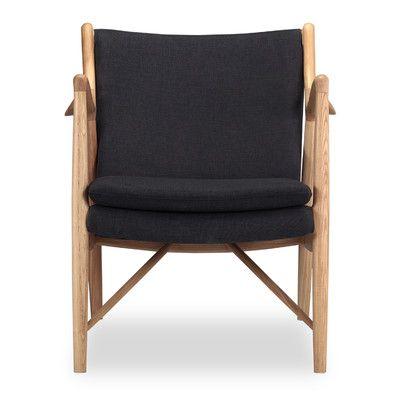 Kardiel Copenhagen 45 Mid-Century Modern Arm Chair Color: Urban Ink