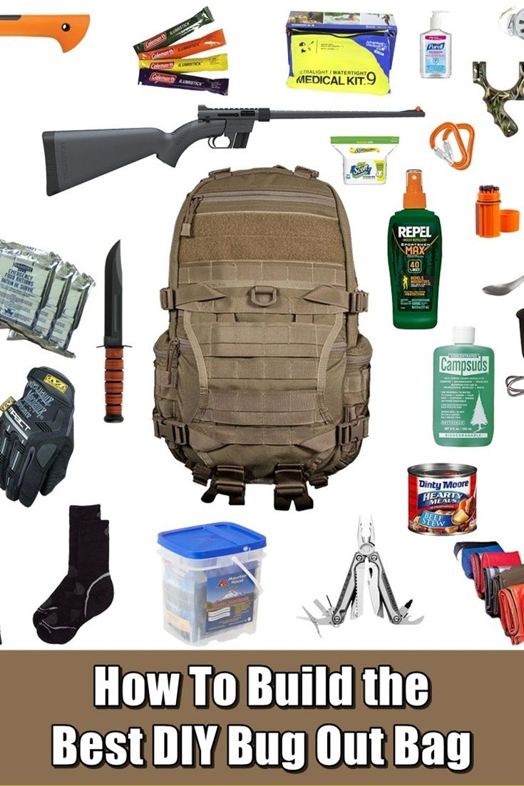 How Build The Best Diy Bug Out Bag Prepping Shtf