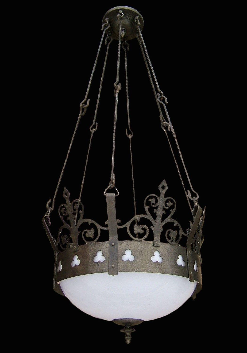 Antique Gothic Hanging Church Pendant Light Fixture Light