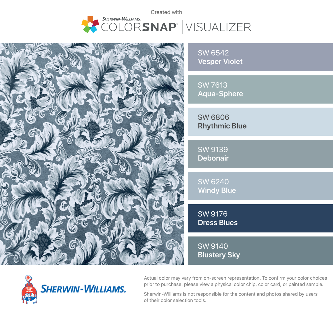 I Found These Colors With Colorsnap Visualizer For Iphone By Sherwin Williams Vesper Violet Sw 6542 Aqua S Paint Colors For Home Paint Colors House Colors [ 1088 x 1158 Pixel ]