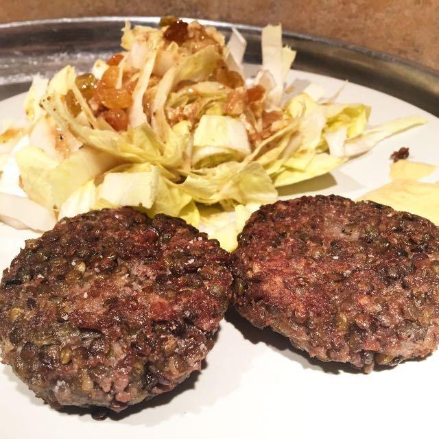 steaks végétaux lentilles et soja texturé | cuisine végétarienne