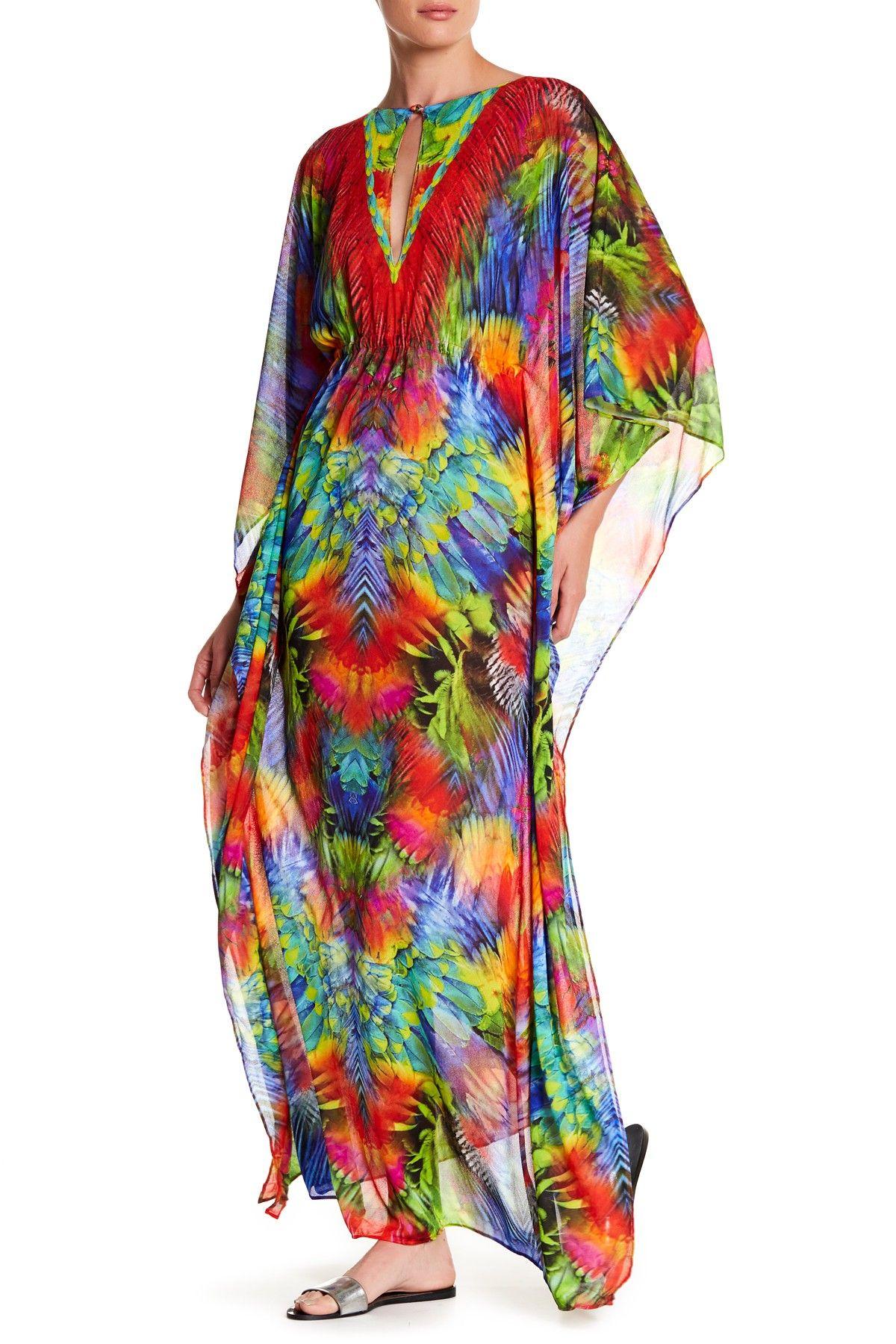 Mundo de Colores Maxi Dress