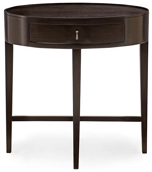 Haven Oval Nightstand 100 Exclusive Contemporary Nightstand