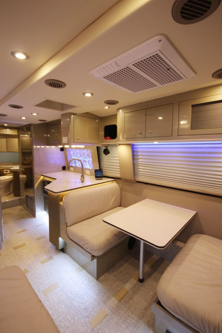 Custom Gmc Motorhome Restoration Airstream Interior