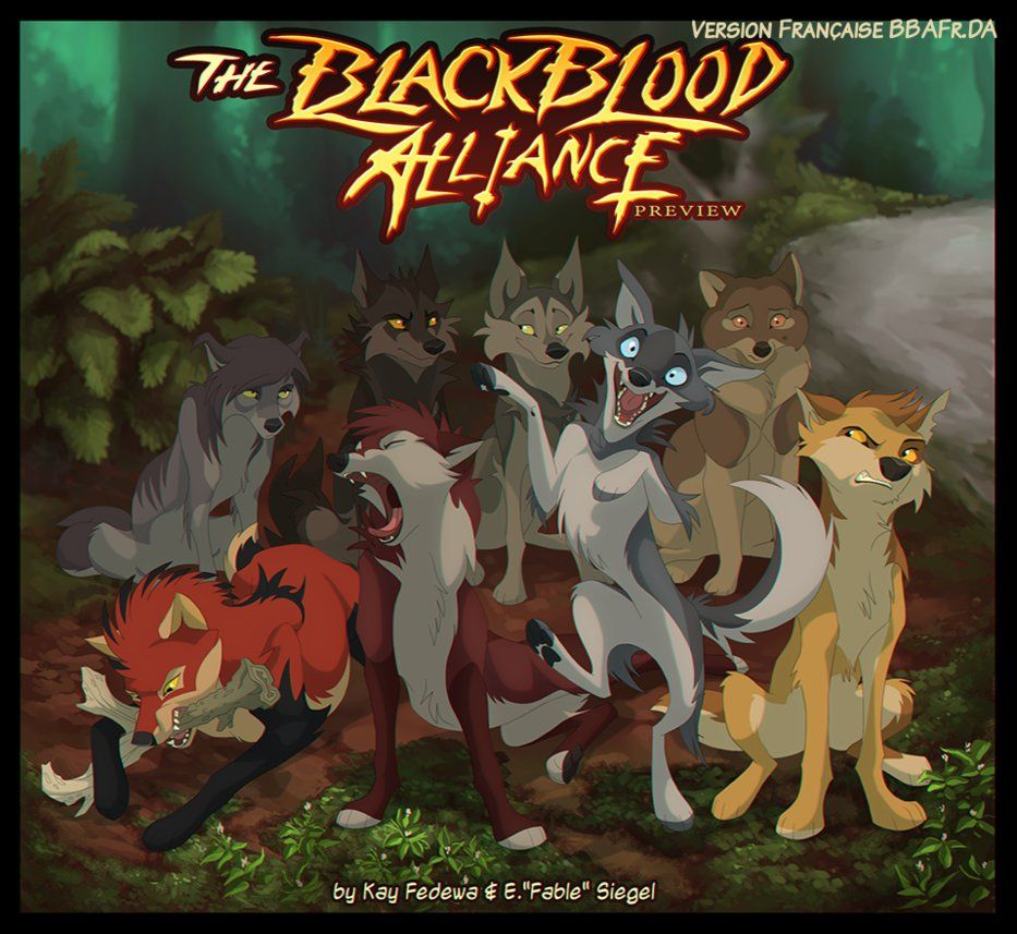 The BlackBlood Alliance. BBA Reboot Preview Page 1 by