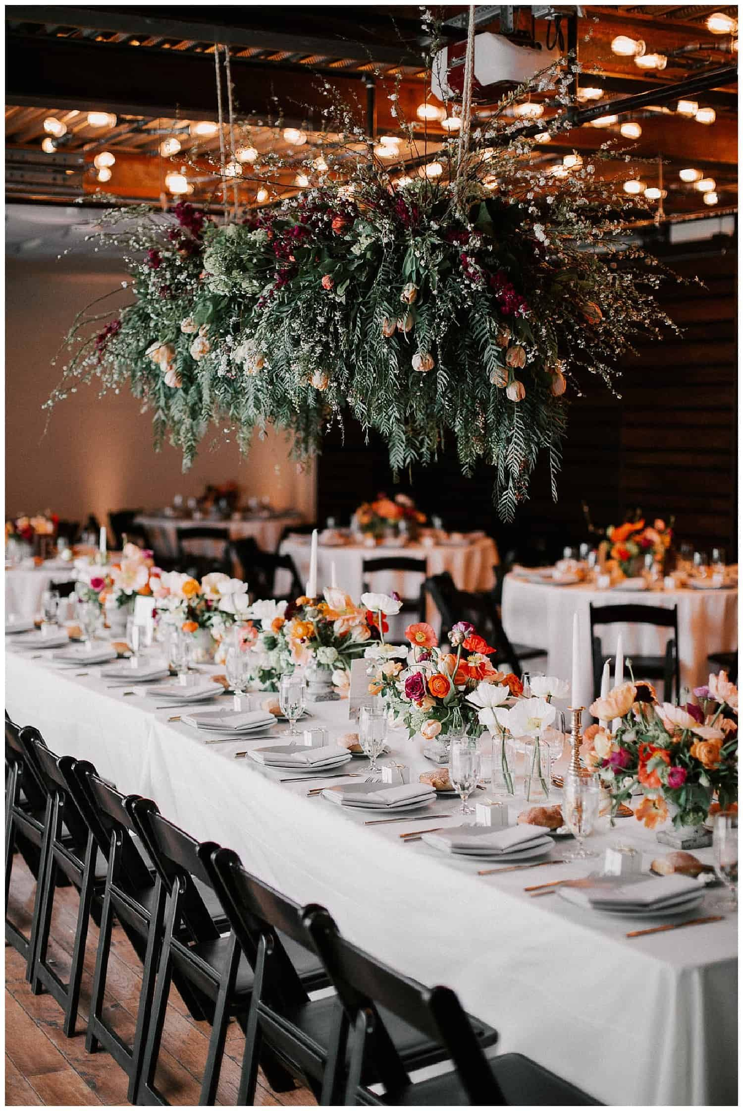 Fremont Foundry Wedding Venue in Seattle's Spring Rain