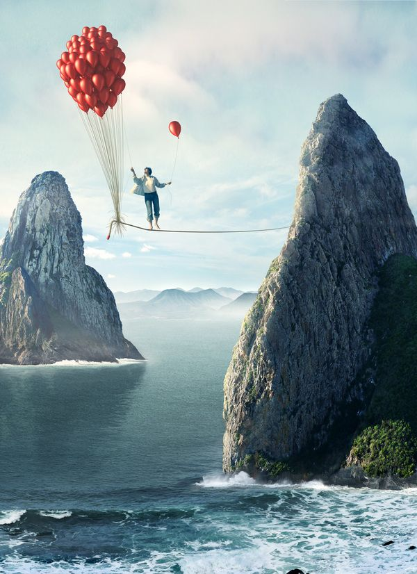 Uli Staiger - Photo-Illustrator creates surreal photos on Behance